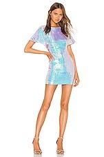 NBD Lyla Mini Dress in Iridescent Pink