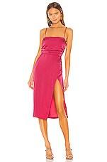 NBD Sage Midi Dress in Hot Pink