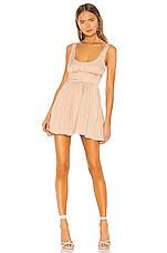 NBD Mya Mini Dress in Nude