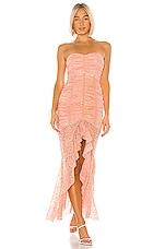 NBD Chun Li Gown in Nude Pink