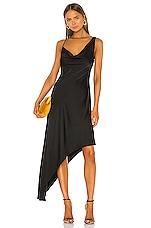 NBD Harmony Midi Dress in Black