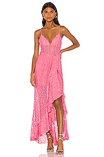 NBD Sinatra Gown in Cake Pink