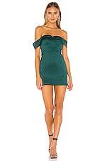 NBD Danyka Mini Dress in Emerald Green