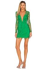 NBD Ceelo Mini Dress in Kelly Green
