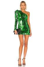 NBD Rihanna Mini Dress in Bright Green