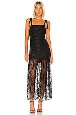 NBD Talia Gown in Black
