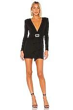 NBD Ciaran Mini Dress in Black