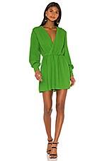 NBD Benita Mini Dress in Moss Green