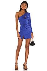 NBD Chloe Mini Dress in Cobalt