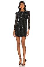 NBD True Embellished Mini Dress in Black