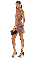 NBD Vika Mini Dress in Mauve