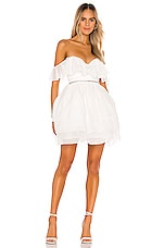 NBD Benae Mini Dress in White