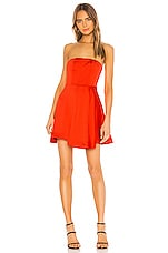NBD Kailynn Mini Dress in Red Orange