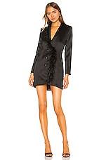 NBD Erick Blazer Dress in Black
