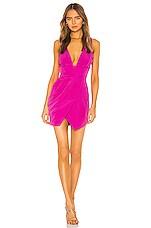 NBD Alexis Mini Dress in Magenta