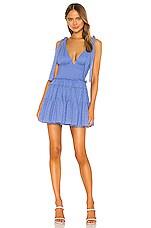 NBD Jimi Mini Dress in Periwinkle Blue