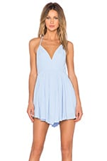 x REVOLVE Get Out Dress in Pale Blue
