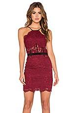 NBD x REVOLVE Lay It Down Dress in Dark Red