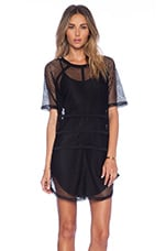 NBD It Girl Shift Dress in Black