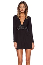 ROBE MANCHES LONGUES ON POINT