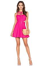 NBD x Naven Twins Eye Candy Dress in Pink