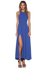 NBD x Naven Out Shine Maxi Dress in Cobalt