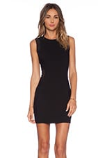 x Naven Twins Vanish Bodycon Dress in Black