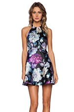 Stay Here Dress in Floral Print