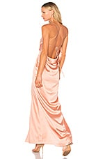 NBD x REVOLVE Zane Gown in Blush