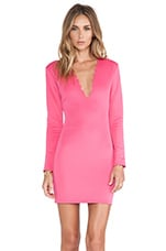Savory Bodycon Dress in Pink