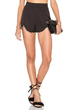 Heart Attack Shorts in Black