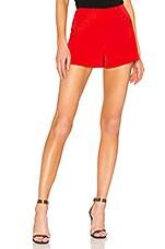 NBD x Naven Lynn Short in Salsa Red