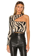 NBD Olivia Sweater in Zebra