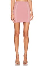 x Naven Twins Diamond Skirt in Mauve