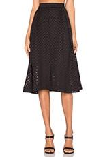 Crossfire Skirt in Black