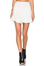 x REVOLVE Headliner Skirt in Ivory