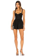 NBD Maisey Romper in Black
