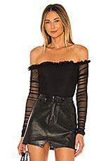 NBD Mazzy Bodysuit in Black