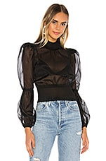 NBD Nailah Blouse in Black