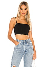 NBD Neena Bustier Top in Black