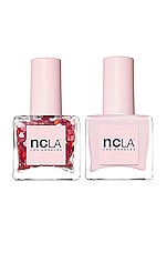 NCLA The Love Duo in Heart Attack & Rose Sheer