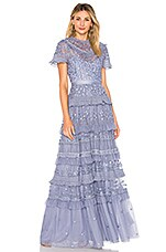 Needle & Thread Iris Gown in Lavender