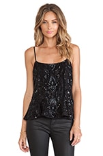 Ebony Lace Top in Black
