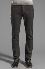 Iggy Skinny Jeans in Coated Grey