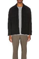 Neuw Wool Field Jacket in Black