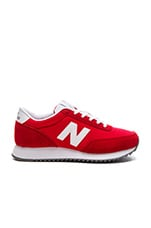 90's Traditional Sneaker en Rouge & Blanc
