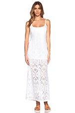 Crochet Day Gown in White