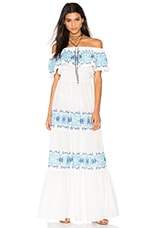 ROBE MAXI GREEK ISLE