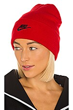Nike NSW Cuffed Utility Beanie in University Red