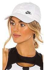 Nike NSW H86 Cap Futura Classic Hat in Black & Volt